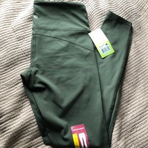 Olive Green Active Leggings